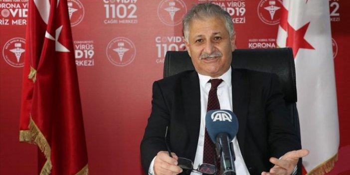 KKTC Sağlık Bakanı Ali Pilli uyardı: Mecbur kalmadıkça virüs vakaları artan Rum tarafına geçmeyin