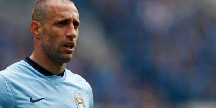 Yıldız futbolcu Zabaleta futbolu bıraktı