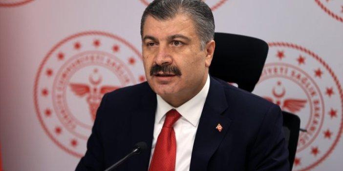 Sağlık Bakanı Fahrettin Koca, virüsteki durumu Erzurum'da anlattı