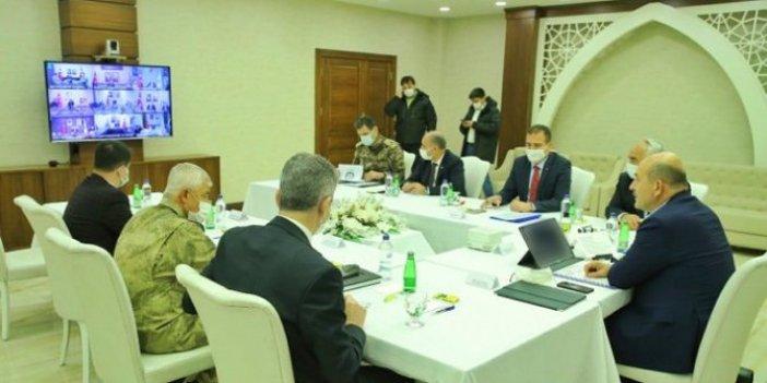 İçişleri Bakanı Süleyman Soylu'dan valilerle kritik korona görüşmesi