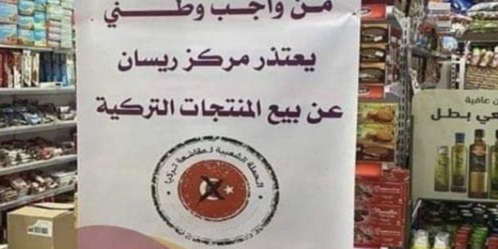 Arabistan'daki dükkanlarda Türkiye ile ilgili ne yazıyor biliyor musunuz, Bizim yetkililerden ses yok!