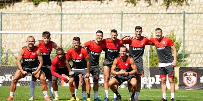 Gaziantep'te Antalya maçı hazırlıkları tamam