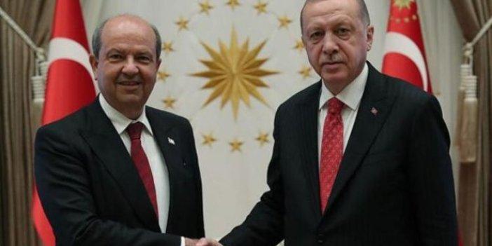 Cumhurbaşkanı Erdoğan'dan Ersin Tatar'a tebrik mesajı