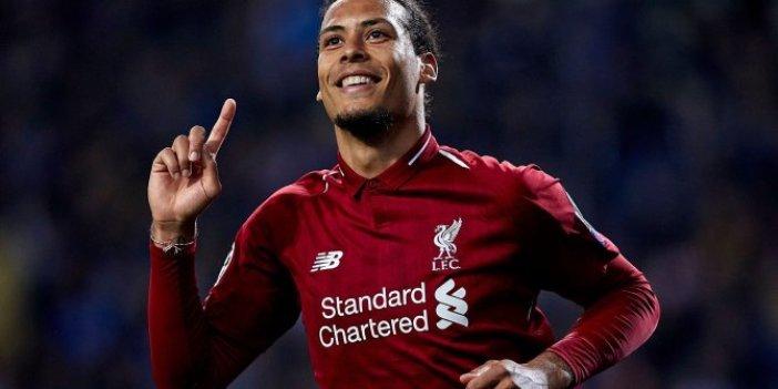 Liverpool'a Virgil van Dijk'ten kötü haber