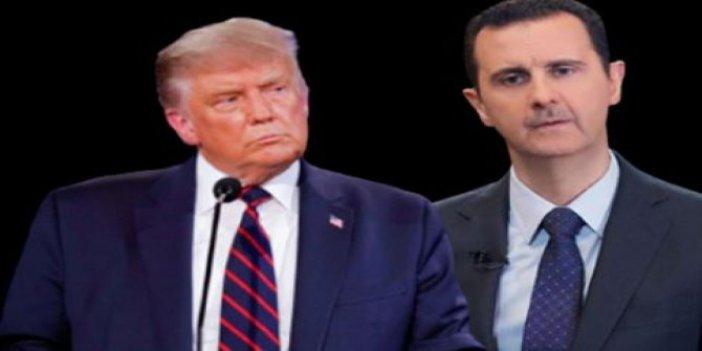 Trump'tan Esad'da gizli mektup. Beyaz Saray yetkilisi Şam'a gitti. ABD'li gazeteden flaş iddia