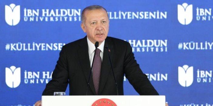 Erdoğan: Fikri hür, vicdanı hür nesiller yetiştirilmek üzere çıkılan yolun batı taklitçiliğine dönüştü