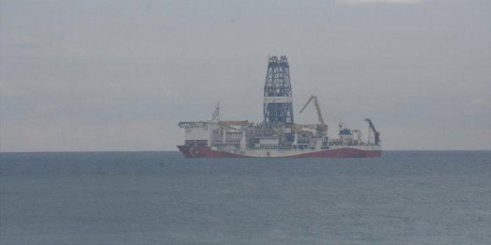 Fatih Sondaj Gemisi bakım için Zonguldak açıklarında