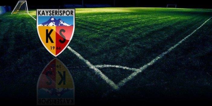 Kayserispor'da bir futbolcu korona virüse yakalandı
