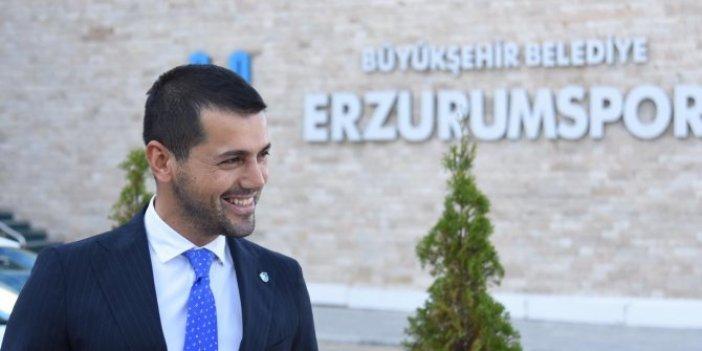 Futbol dünyasından Erzurumspor Başkanı Üneş için geçmiş olsun mesajları geldi
