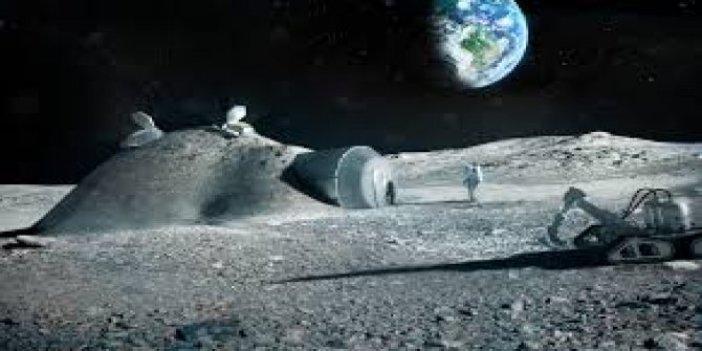 NASA ay yüzeyine kuracak teknoloji  için 14 milyon dolar aktardı