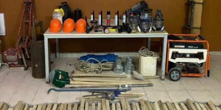 Karabük'te kaçak kazı yapan kişileri tutuklandı