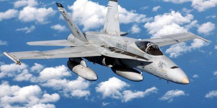 ABD'de yine savaş uçağı düştü