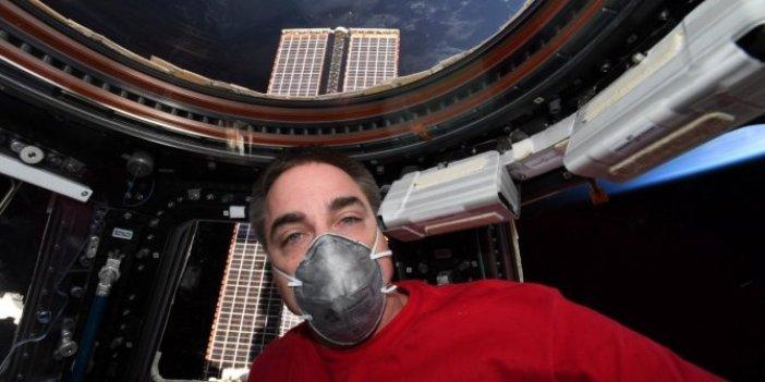 NASA astronotları Dünya'ya dönüyor