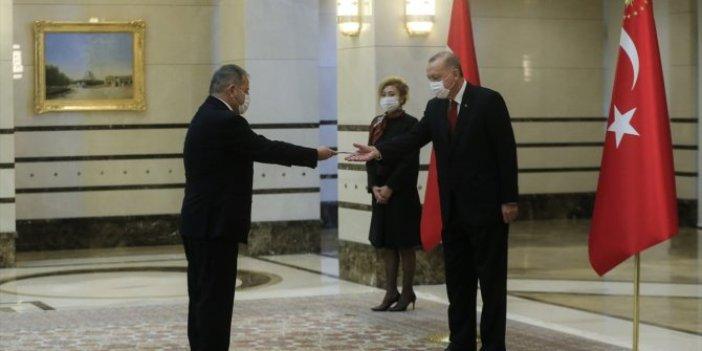 Cumhurbaşkanı Erdoğan İspanya Büyükelçisi ile görüştü