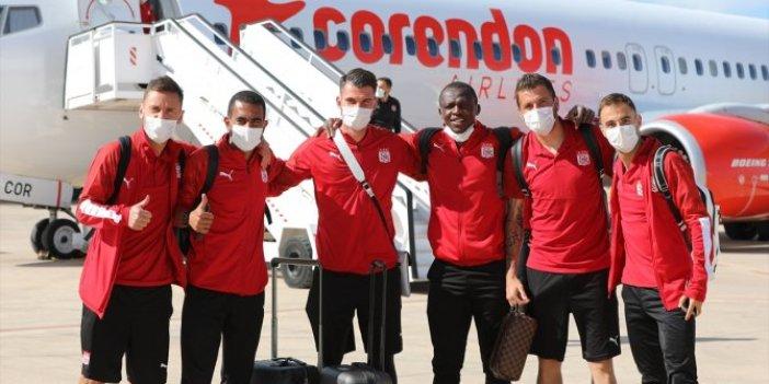Sivasspor İspanya'ya ulaştı