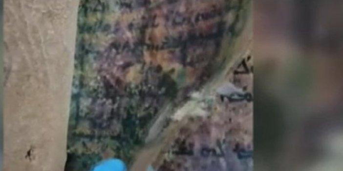 Gaziantep'te ceylan derisi üzerine İbranice yazılmış İncil yakalandı. Halep'ten Türkiye'ye getirilen İncilin fiyatı 1 milyon dolar