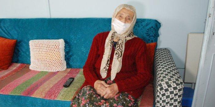 Korona virüsü yenmişti. 96 yaşındaki Bartınlı nine uzun yaşamanın sırrını açıkladı