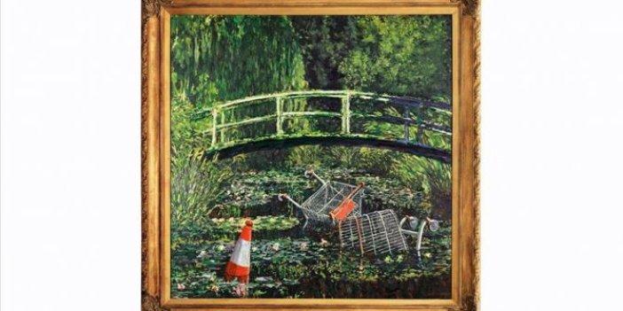 Banksy'nin Show Me the Monet adlı eseri 9,8 milyon dolara satıldı