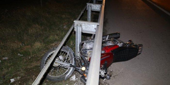 Manisa'da feci motosiklet kazası