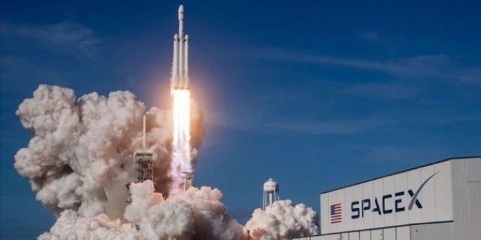 SpaceX tarafından 60 iletişim uydusununfırlatılışı iptal edildi