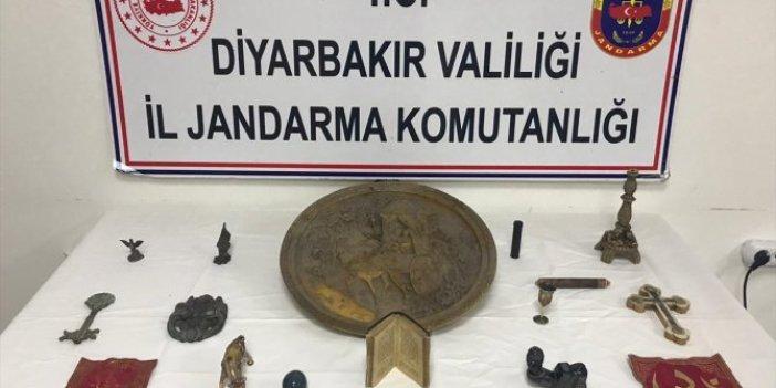 Diyarbakır'daki operasyonda yakalandılar. Tarihi, 500 bin liraya satacaklardı