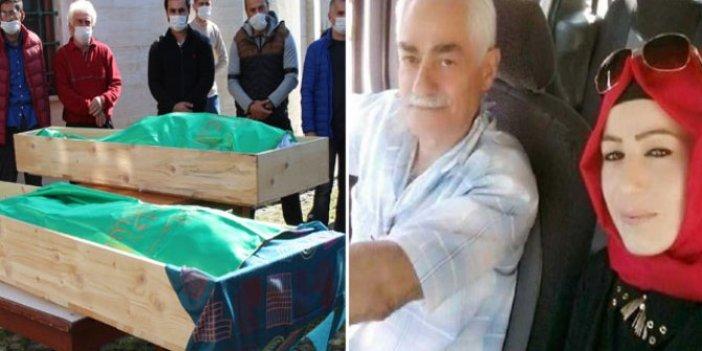 Rize'de acı olay, onları ölüm bile ayıramadı. Baba ile kızı 8 saat arayla öldü