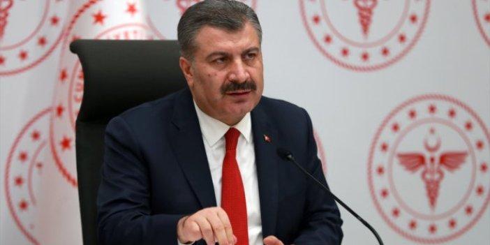Sağlık Bakanı Fahrettin Koca'dan Bursa'da flaş açıklamalar