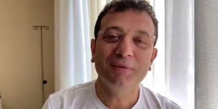 Koronaya yakalanan İstanbul Büyükşehir Belediye Başkanı Ekrem İmamoğlu'ndan ilk mesaj