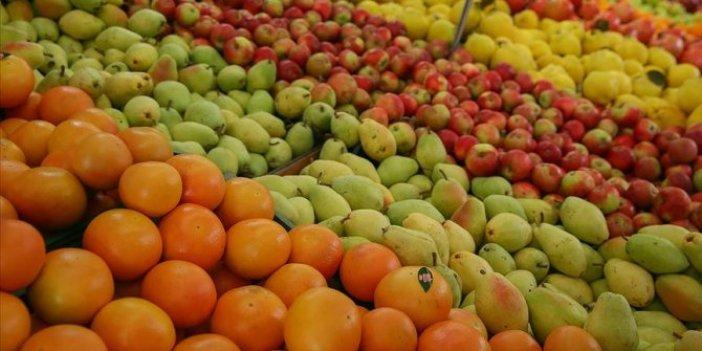 Türkiye'nin yaş meyve ve sebze ihracatında ilk sıralarda yer alan ürünler belli oldu