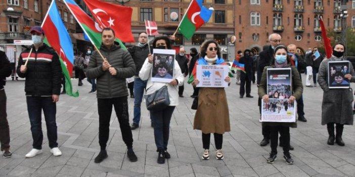 Danimarka'da Azerbaycan'a destek etkinliği düzenlendi