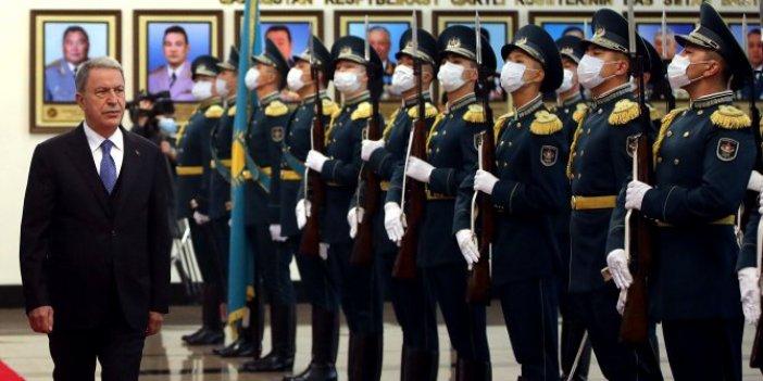 Milli Savunma Bakanı Akar, Kazakistan'da