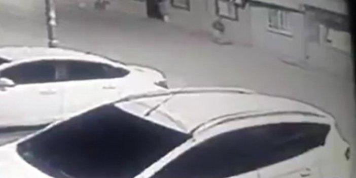 İkinci teröristin vurulma anı ortaya çıktı. Kameralara saniye saniye kaydedildi