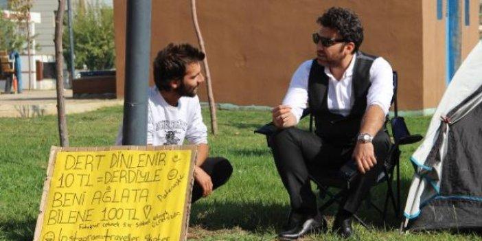 Günün en yaratıcı haberi Diyarbakır'dan geldi. Sivaslı genç dünya turu yapmanın yolunu böyle buldu
