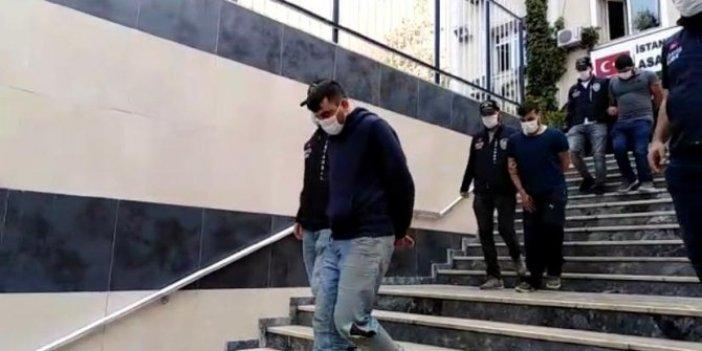 Arnavutköy'de film gibi hırsızlık operasyonu. Çaldıkları miktar dudak uçuklattı