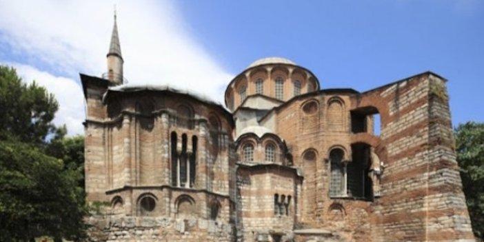İstanbul'daki Kariye Camii ibadete açılıyor. Tarih belli oldu