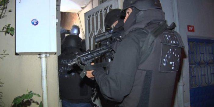 İstanbul'da çok sayıda adrese terör operasyonu