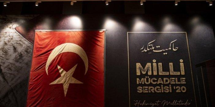 Cumhuriyet'in 97. yılına özel Milli Mücadele Sergisi 29 Ekim Cumhuriyet Bayramı'nda açılacak