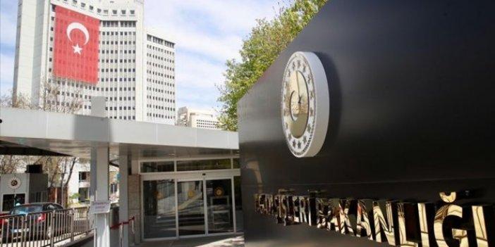 Dışişleri Bakanlığı'ndan Berde saldırısı açıklaması