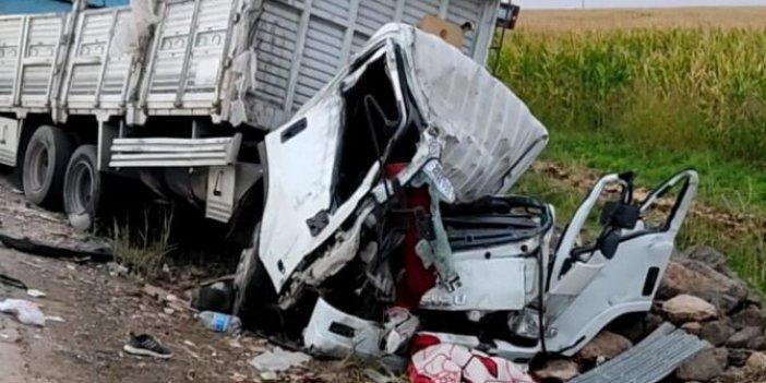 Viranşehir'de feci kaza: 2 kişi hayatını kaybetti