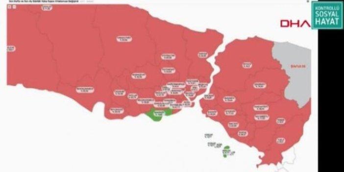 İstanbul'da koronanın patladığı 8 ilçe. Bu bölgede virüs kol geziyor. Sağlık Bakanı Fahrettin Koca tek tek saydı.