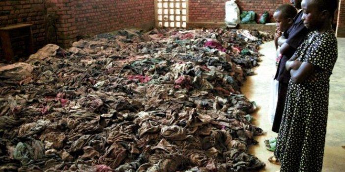 Ruanda'da yerin 30 metre altında soykırım mezarlığı bulundu. 5 bin insan üst üsteydi. Görenler gözyaşlarına boğuldu
