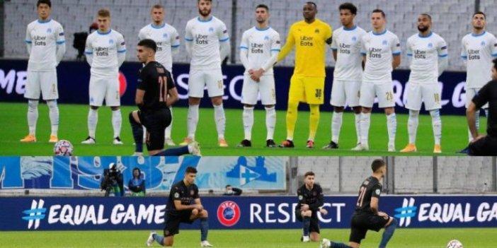 Marsilyalı oyunculardan ırkçı hareket. Dünya bu olayı konuşuyor. Kulüpten açıklama geldi