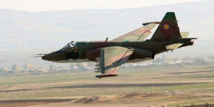 Ermenistan'a ait iki Su-25 tipi uçak düşürüldü