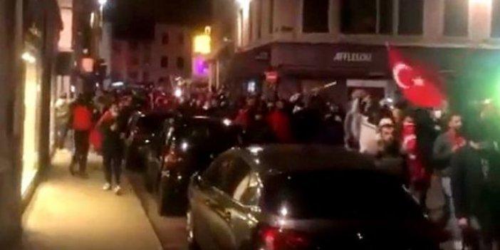 Fransa'da Türklere polis müdahalesi