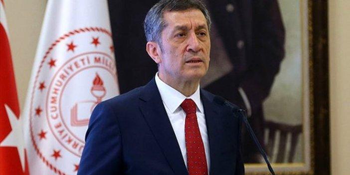 Bakan Ziya Selçuk'tan İzmir'deki okullarla ilgili açıklama