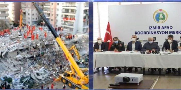 Bakanlar depremin vurduğu İzmir'deki son durumu açıkladı