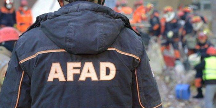 AFAD'dan depremzedeler için gıda ve battaniye çağrısı