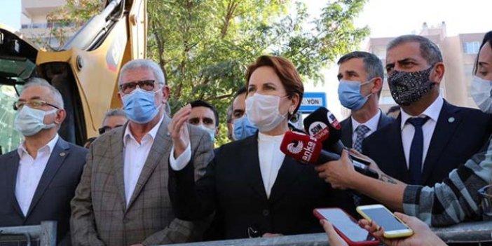 Meral Akşener depremin vurduğu İzmir'de