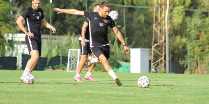 Hatayspor'da Demir Grup Sivasspor maçı hazırlıkları sürüyor