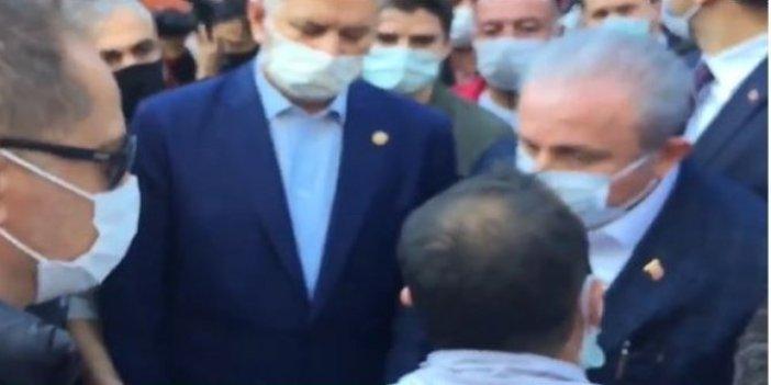 İzmir'de aileleri enkaz altındaki vatandaşların TBMM Başkanı Mustafa Şentop'tan isteği kahretti